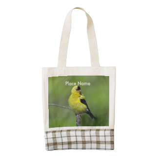 Goldfinch de New Jersey Bolsa Tote Zazzle HEART