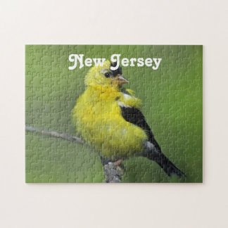 Goldfinch de New Jersey Rompecabeza