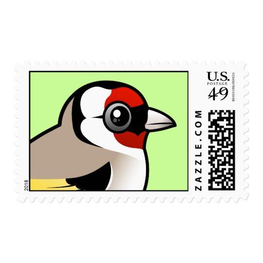 Goldfinch europeo sello
