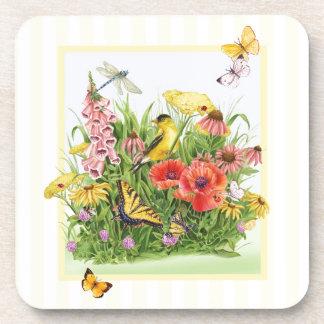Goldfinch Garden Coaster