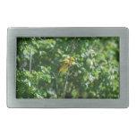 Goldfinch Hebilla De Cinturón Rectangular