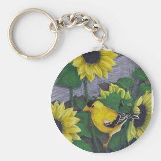 Goldfinch Keychains