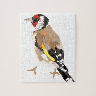 Goldfinch modern illustration jigsaw puzzle