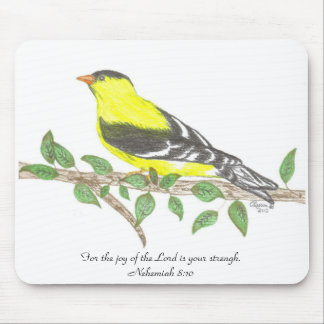 Goldfinch Mousepad