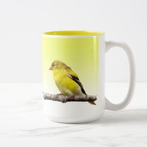 Goldfinch Coffee Mugs