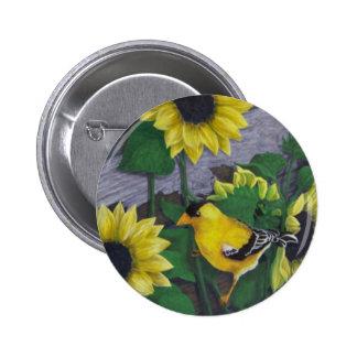 Goldfinch Pins