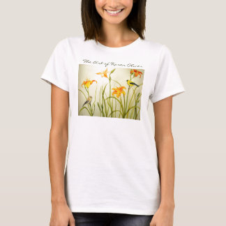Goldfinch Print Tee, The Art of Karen Oliver T-Shirt