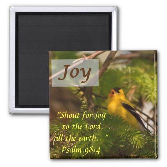 Goldfinch Singing - Joy Magnet
