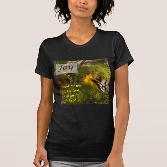 Goldfinch Singing - Joy T-Shirt