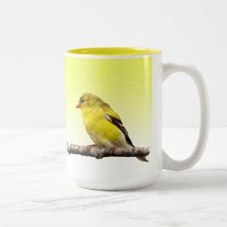 Goldfinch Taza De Dos Tonos