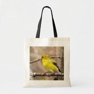 Goldfinches Bolsa Tela Barata