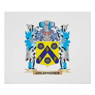 Goldfischer Coat of Arms - Family Crest Posters