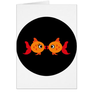 Goldfish2 Tarjeta De Felicitación