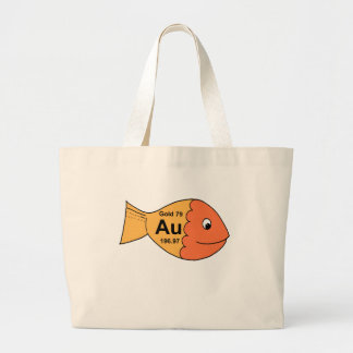 Goldfish 2 bolsa tela grande