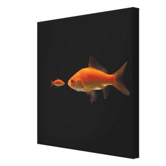 Goldfish 2 canvas print