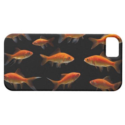 Goldfish 2 iPhone 5 Case-Mate cárcasa