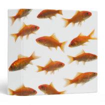 Goldfish 3 Ring Binder