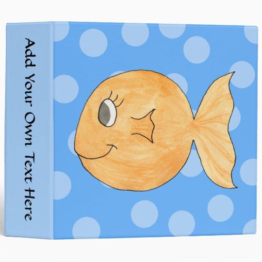 Goldfish. 3 Ring Binder
