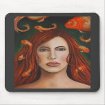 Goldfish#9 Mouse Pads