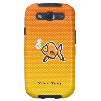 Goldfish amarillo-naranja galaxy SIII funda