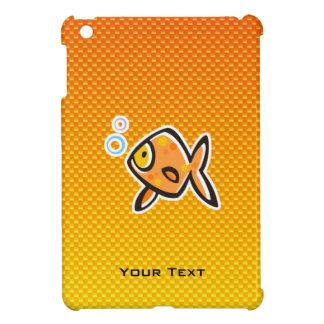 Goldfish amarillo-naranja iPad mini protectores