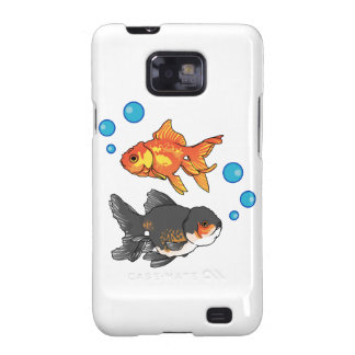 GOLDFISH AND BUBBLES SAMSUNG GALAXY SII CASE