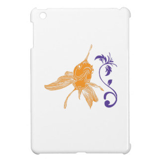 GOLDFISH AND FLOWER CASE FOR THE iPad MINI