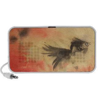 Goldfish at Sunset iPod Speaker
