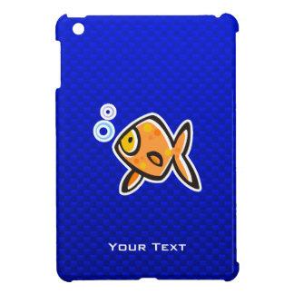 Goldfish azul iPad mini coberturas