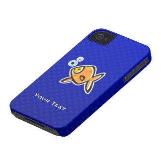 Goldfish azul iPhone 4 cobertura