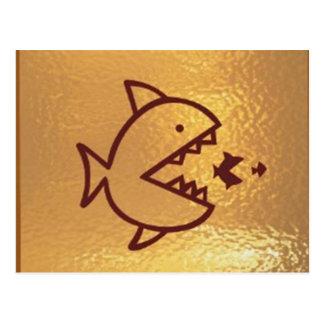 Goldfish Bigfish Smallfish Postcard