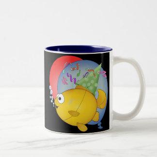 Goldfish birthday gift mug
