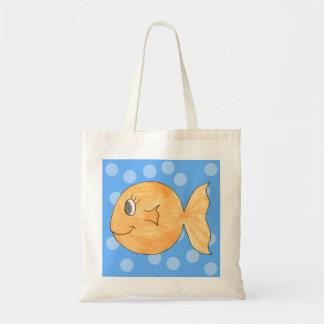Goldfish. Bolsa Tela Barata