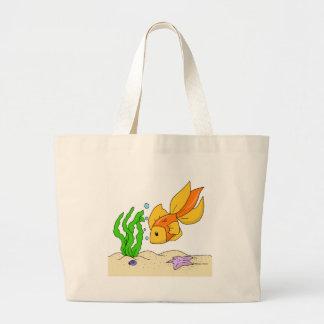 Goldfish Bolsa Tela Grande