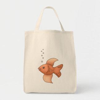 Goldfish Bolsa Tela Para La Compra