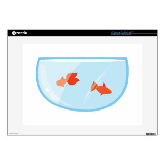 """Goldfish Bowl 15"""" Laptop Skin"""