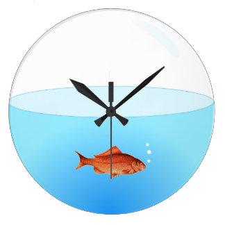 Goldfish Bowl Clock