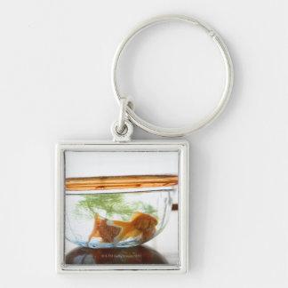 Goldfish bowl key chain