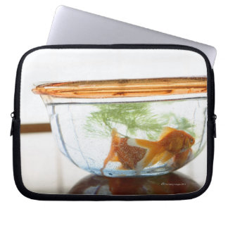 Goldfish bowl laptop computer sleeve