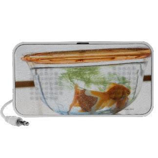 Goldfish bowl PC speakers