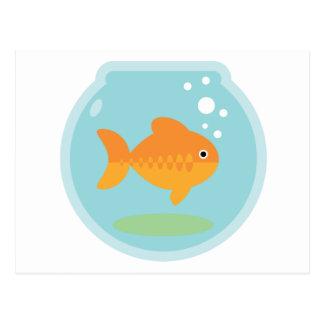 Goldfish Bowl Post Card