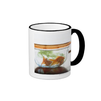 Goldfish bowl ringer mug