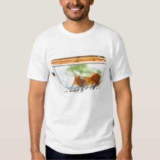 Goldfish bowl shirt