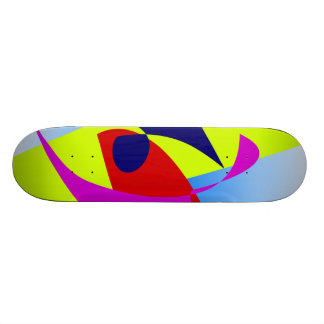 Goldfish Bowl Summer Colors Custom Skateboard