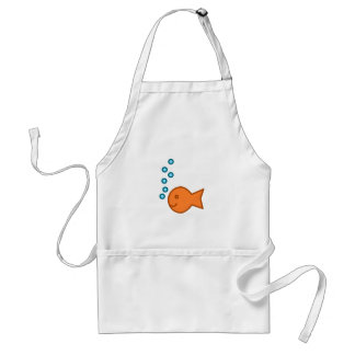 Goldfish Bubbles Aprons
