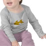Goldfish burbujeante camiseta