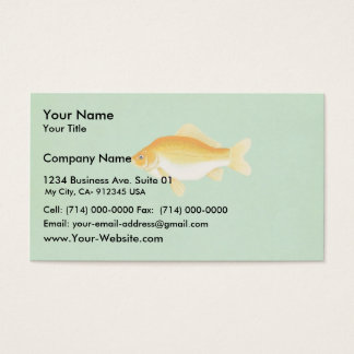 Goldfish Business Card