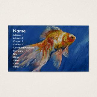 Goldfish Business Card