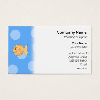 Goldfish. Business Card