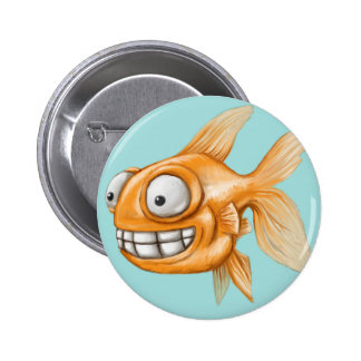 Goldfish Pinback Buttons